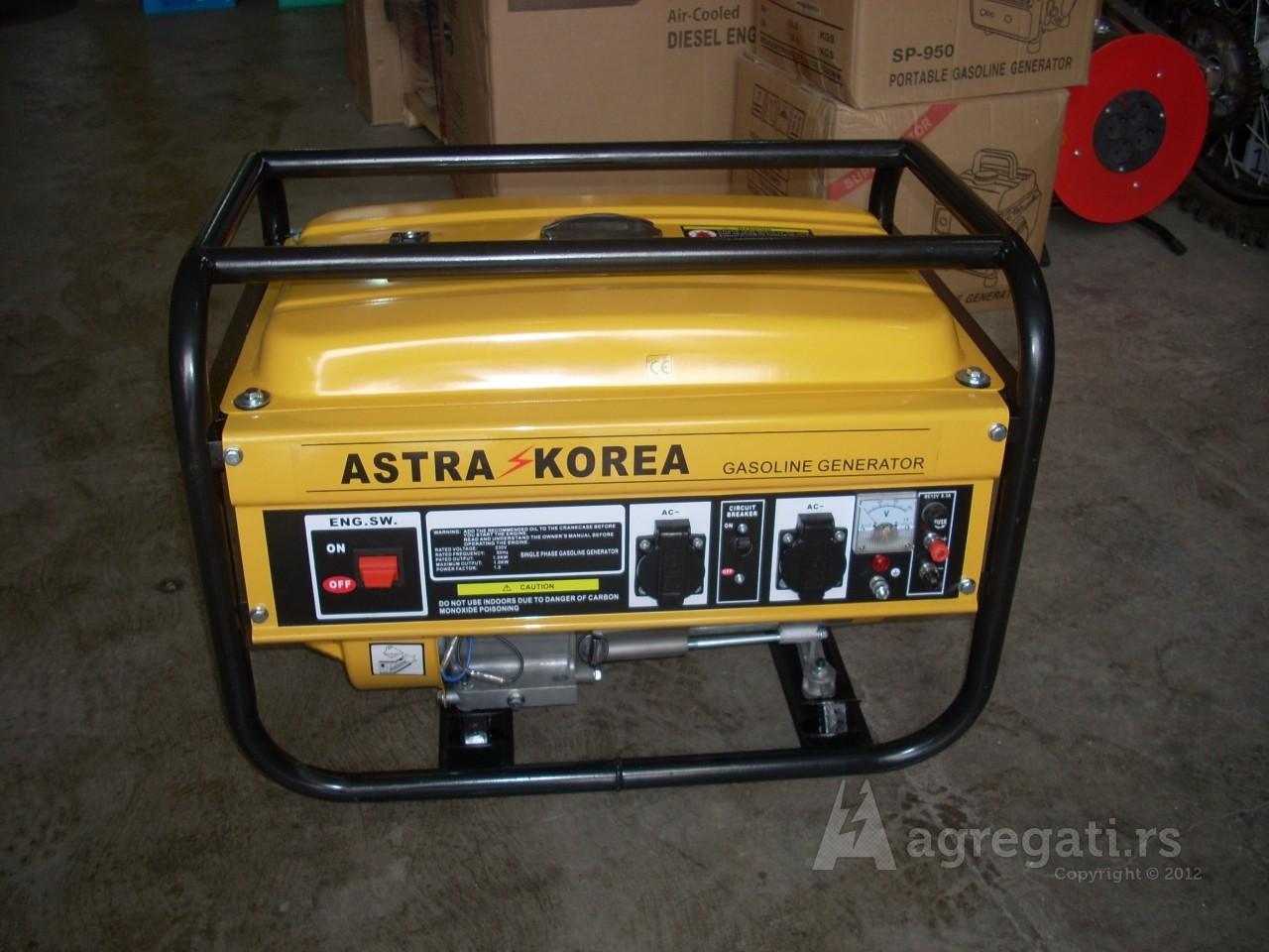 Astra Korea 2,5kw