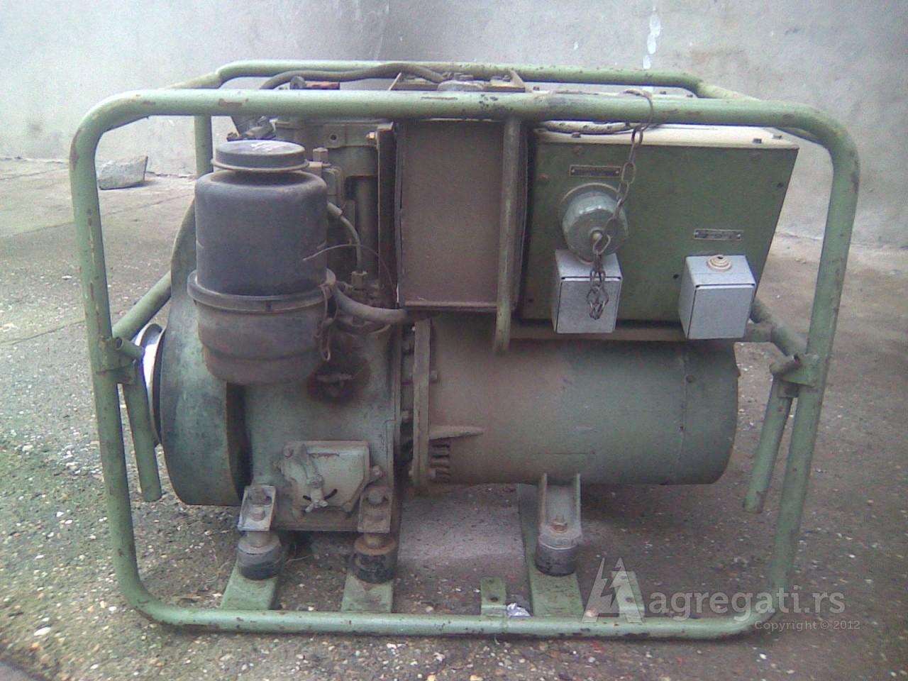 dizel agregat Koncar 5 kw