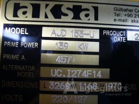 AKSA 150kw