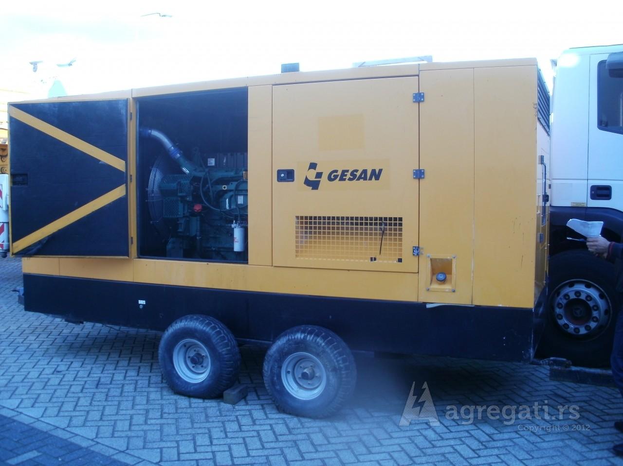 Prodaja polovnog agregata GESAN DVS410 450/410kVA Stand By/Prime snage