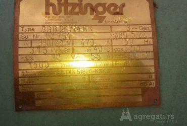DIZEL AGREGAT 315kVA Jenbacher-Hitzinger