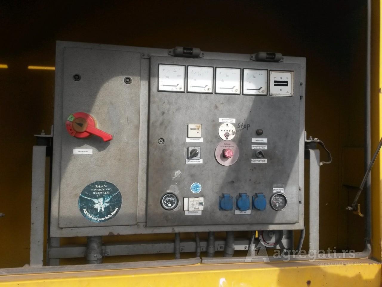 polyma mercedes mobilni dizel agregat 104 kw