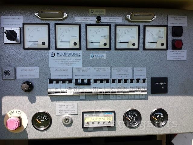 rent dizel elektro agregata 30 kva zvucno izolovan na točkovima
