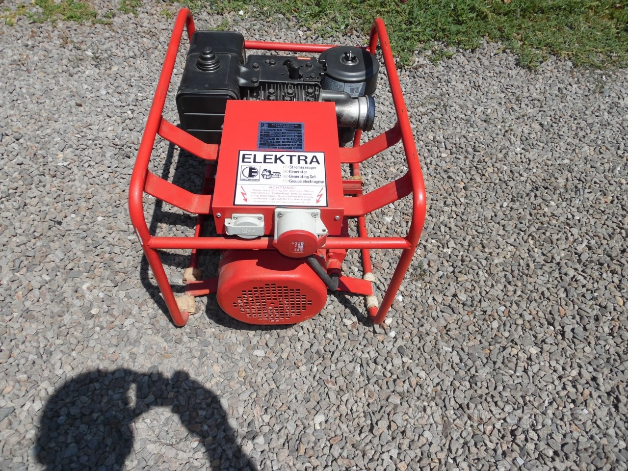 Briggs&Stratton agregat 3,8kw NOV