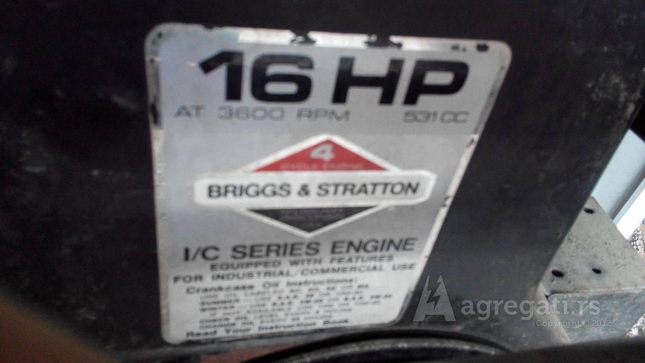 Briggs & Stratton 16 HP Dizel agregat